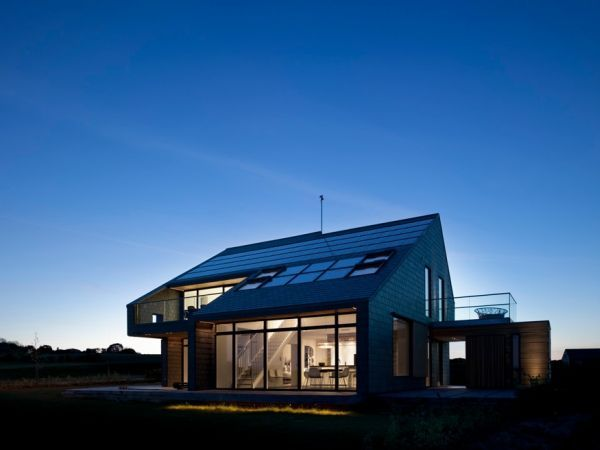 Bolig for livet dagens design4 Home for Life in Denmark Produces More Energy Than It Consumes