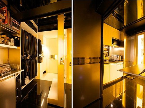 cool apartment freshome4 Incredible: Gary Changs 24 Rooms in a 30 Sq Meters Apartment