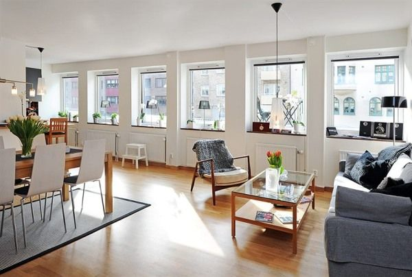 Aesthetics and Functionality in a Beautiful Contemporary Flat