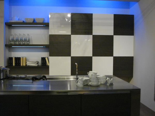 Two Intriguing Kitchen Shelving Ideas, Milan 2010