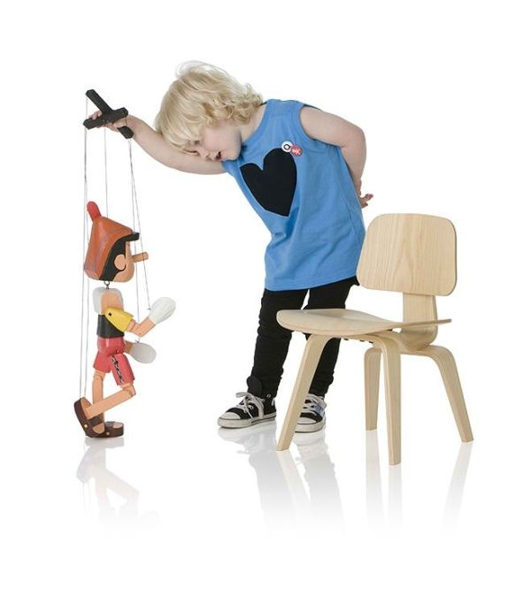 The Woody 750 Adorable and Famous Chair Designs for Children