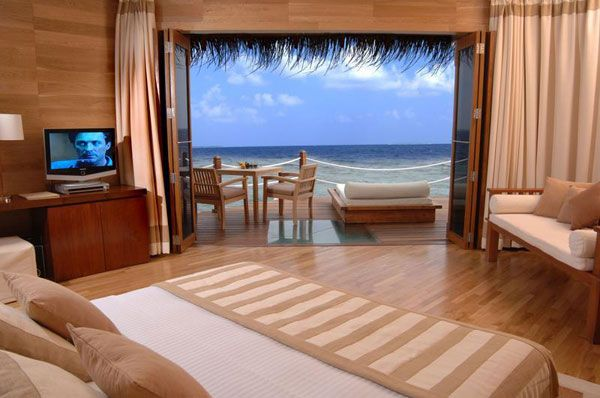 bedroom view sea 23 Amazing Bedrooms with a Panoramic View of the 