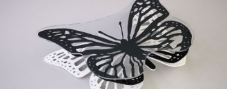 Butterfly Coffee Table by Svilen Gamolov
