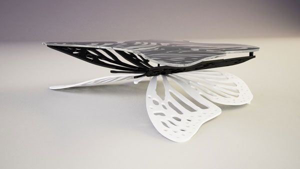 butterfly table3 Butterfly Coffee Table by Svilen Gamolov