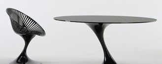 Fashionable Chair and Table Collection from Casprini