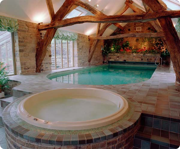 indoor pool house 14 Indoor Pools for a Delightful Swimming Experience