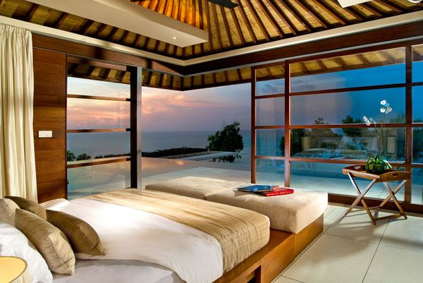 ocean view bedroom 23 Amazing Bedrooms with a Panoramic View of 