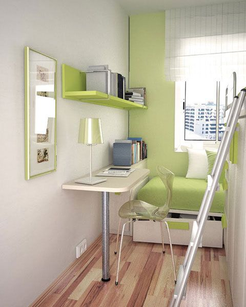 small teen room design idea 20 10 Cute Small Room Arrangements for Teens