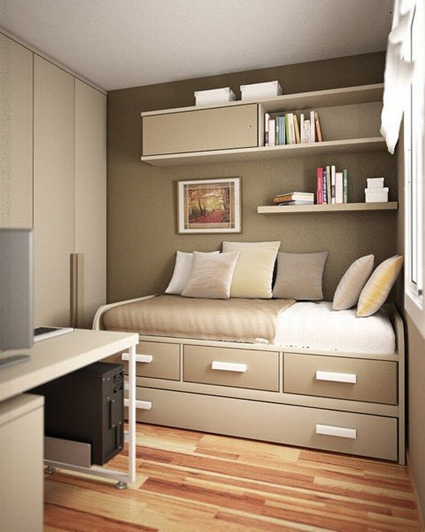 small teen room design idea 4 10 Cute Small Room Arrangements for Teens