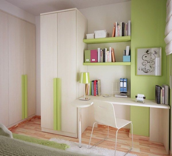 small teen room design idea 7 10 Cute Small Room Arrangements for Teens