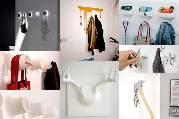 25 of the Most Creative Wall Hook Designs | Freshome.com