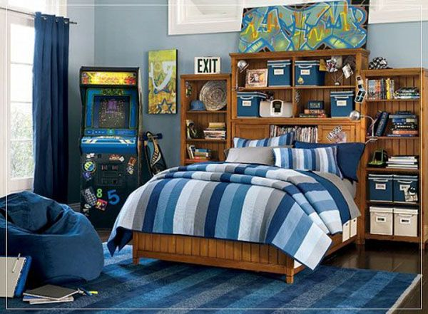02 27 495x36411 25 Room Designs for Teenage Boys