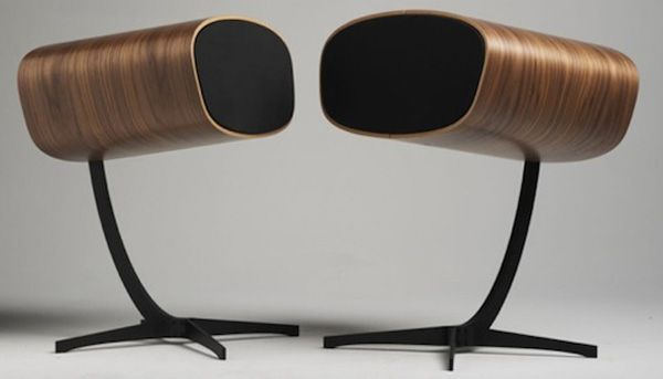 Speakers Inspired by the Eames Chair