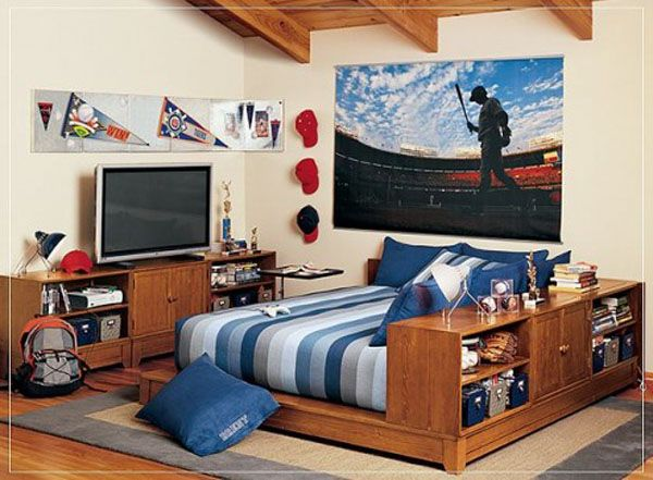 11 118 495x36411 25 Room Designs for Teenage Boys
