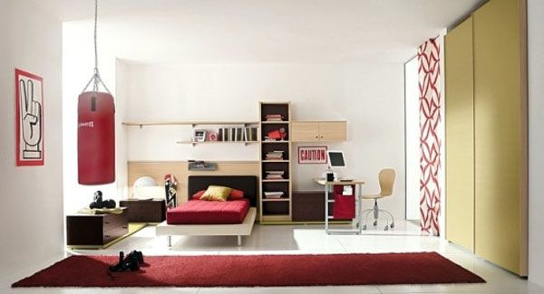 19 cool boys bedroom ideas by zg group 554x30011 25 Room Designs for Teenage Boys