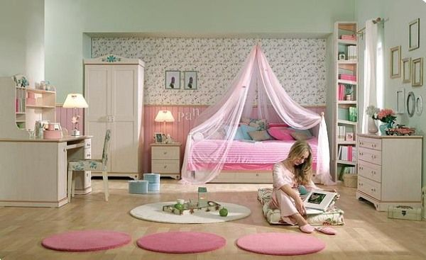 25 room design ideas for teenage girls. Black Bedroom Furniture Sets. Home Design Ideas