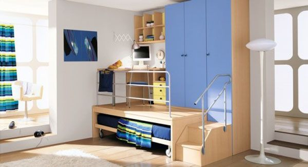 Cool Boys Bedroom Ideas by ZG Group 21 554x3001 25 Room Designs for Teenage Boys