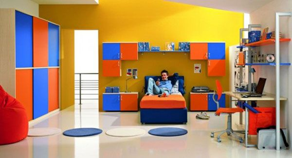 Cool Boys Bedroom Ideas by ZG Group 6 554x3001 25 Room Designs for Teenage Boys