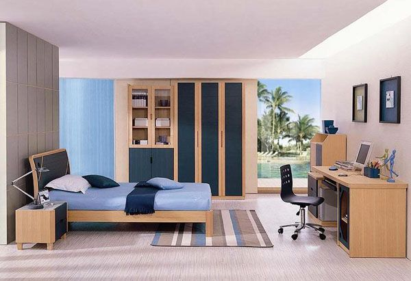 ModernBedroom 11 25 Room Designs for Teenage Boys