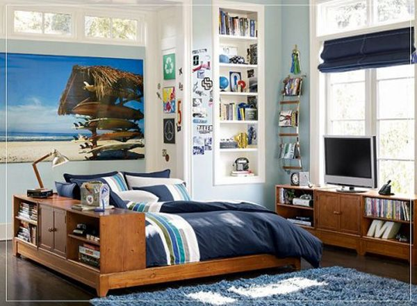bedroom boys 25 Room Designs for Teenage Boys