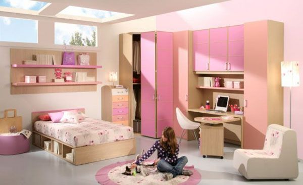 25 room design ideas for teenage girls freshome com rh freshome com interior design for small girl bedroom interior design teenage girl bedroom ideas