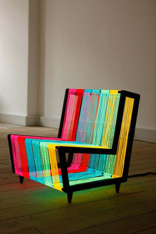 discoChair2l Disco Chair, a Design for a Groovy Interior