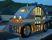 german architecture auto house 1 170x130 A Tribute to Originality in Architecture: The Pentagonal House