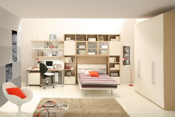 giessegi rooms for boys and girls 2 554x3691 25 Room Designs for Teenage Boys