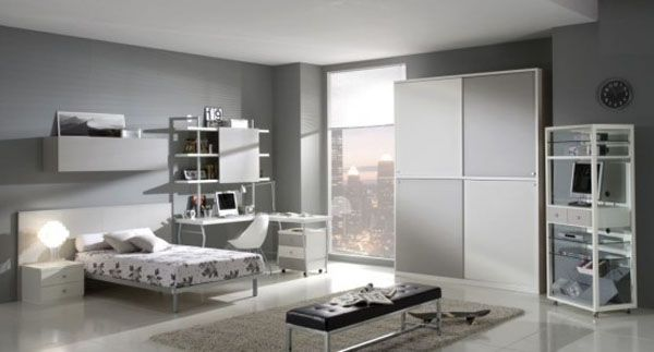 giessegi rooms for boys and girls 5 554x2981 25 Room Designs for Teenage Boys