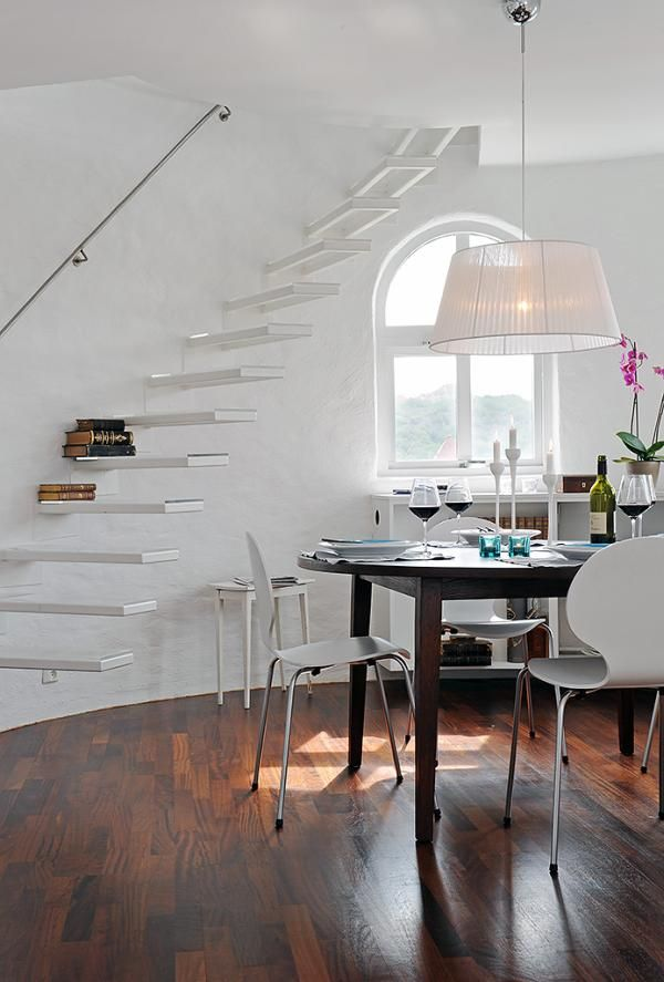 image 0191 Sleek, Beatiful and Inspiring Design in a White Apartment