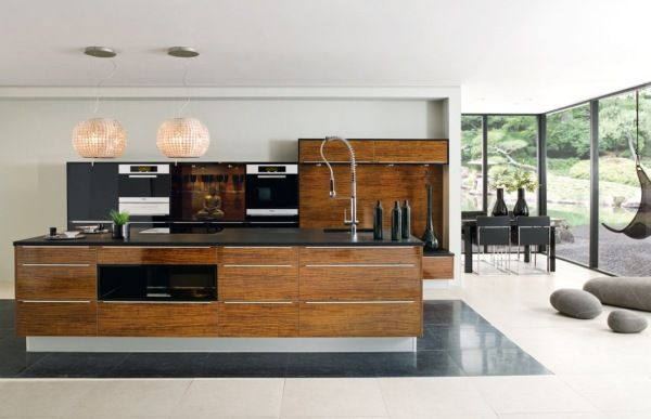luxury wooden kitchen 25 Modern Kitchen Designs That Will Rock Your Cooking World
