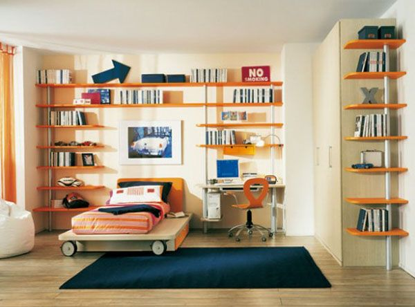 max sunny kids bedroom 1 554x41011 25 Room Designs for Teenage Boys