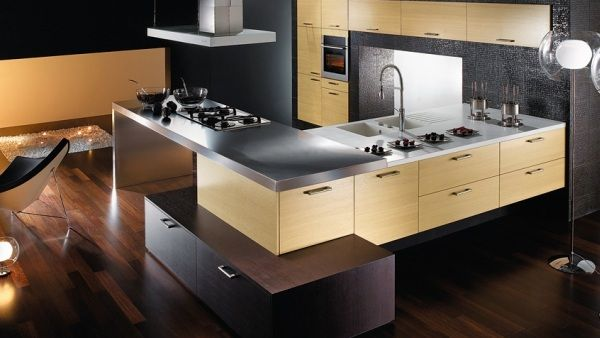 new modern kitchen6 25 Modern Kitchen Designs That Will Rock Your Cooking World