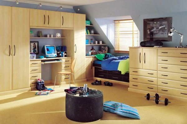 teen bedroom11 25 Room Designs for Teenage Boys