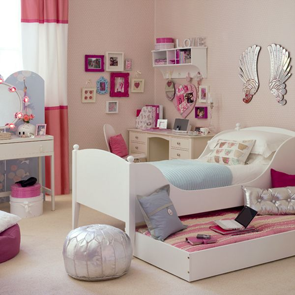 40 Room Design Ideas For Teenage Girls Freshome New Teenage Girl Bedroom Design