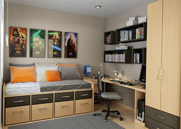 thoughtful teen room layout 2811 25 Room Designs for Teenage Boys