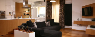 "Apartment Design in Timisoara with Ingenious ""On Sale"" Decorating Items"