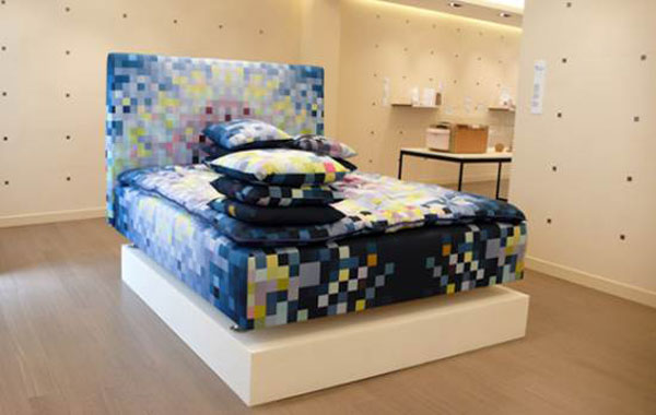 Limited Edition Pixelated Bed for Digital Dreaming