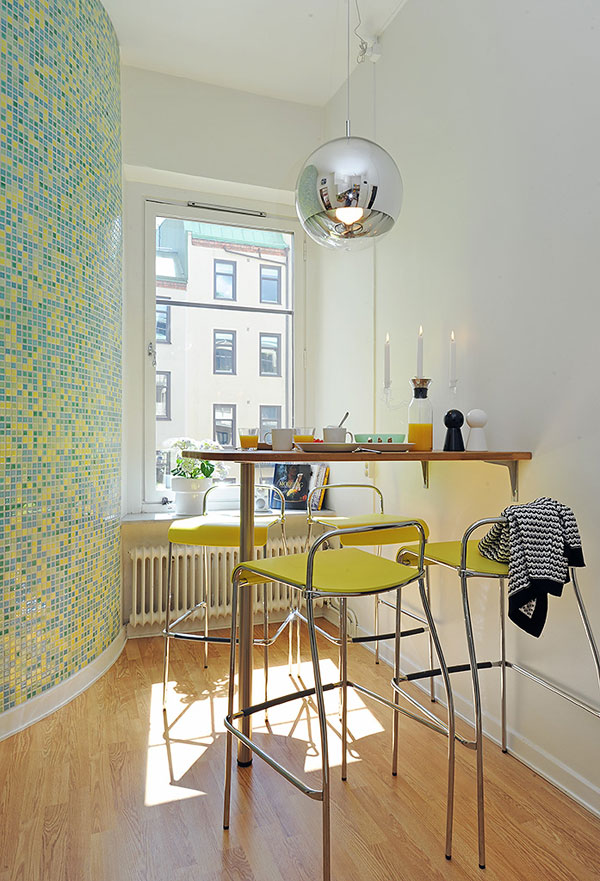 image Beautiful and Fresh Apartment Invaded by Color