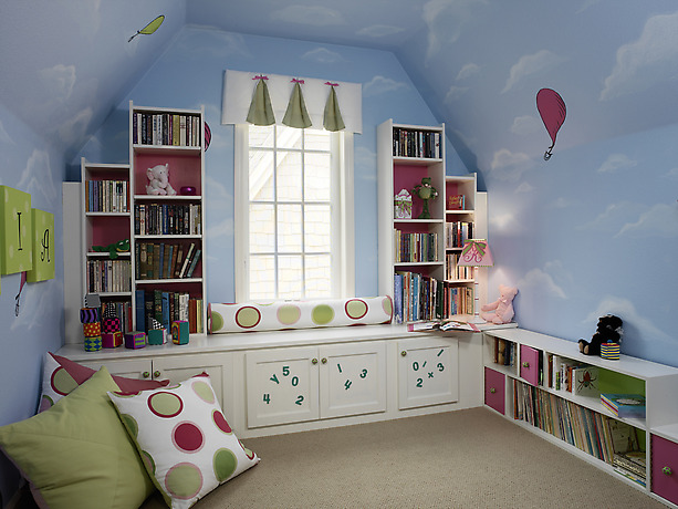 THEME INSPIRED: Kid's rooms have always been a space where adults can let