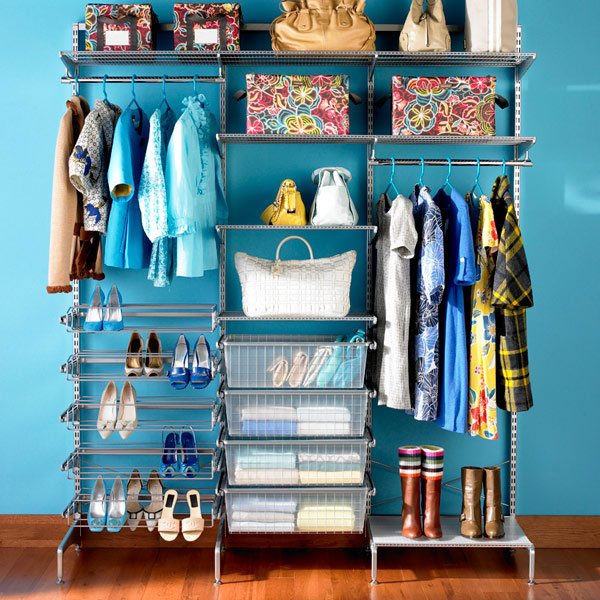 reach in closet How to Maximize Every Inch of a Small Closet