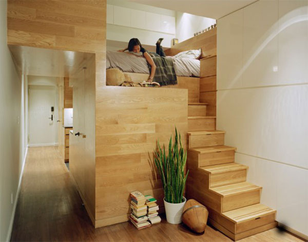 Incredible Space Maximization in a Small Studio Apartment