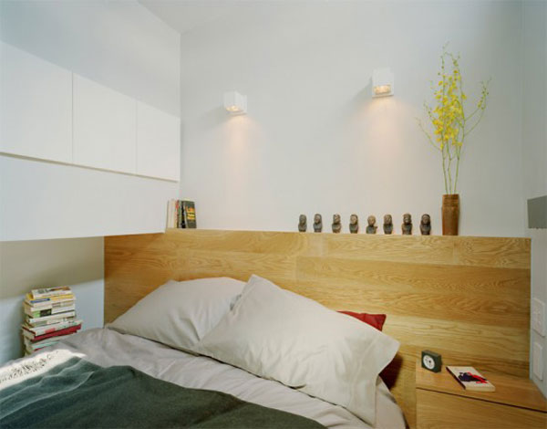 very tiny loft studio design 5 554x434 Incredible Space Maximization in a Small Studio Apartment