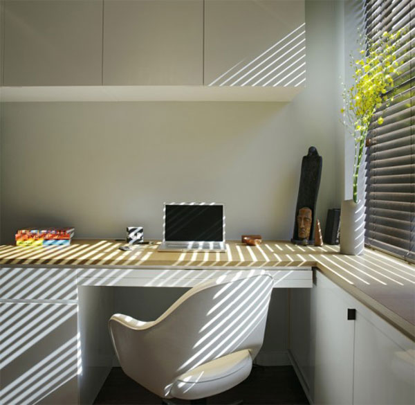 very tiny loft studio design 6 554x540 Incredible Space Maximization in a Small Studio Apartment