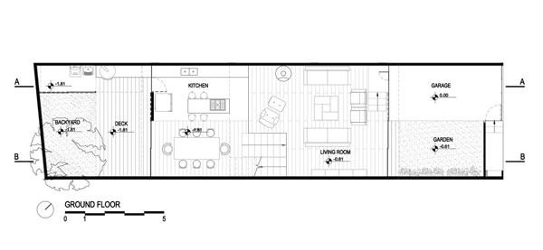1281709988 ground floor plan 1000x461 Diverse Design and Architecture in Brasil : Juranda House