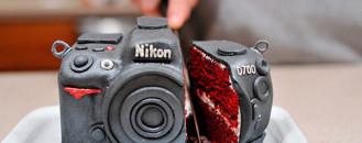 Nikon D700 Camera Cake. Photographers, This One's For You !