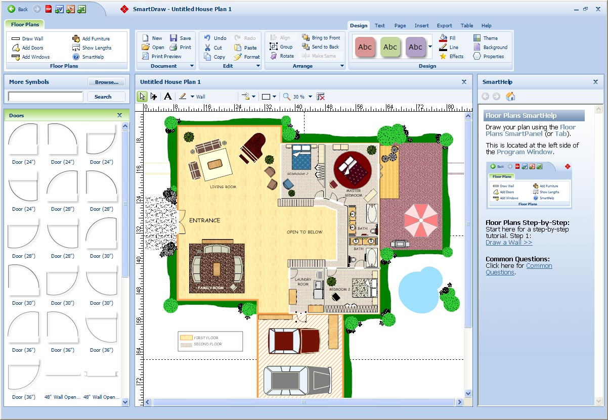 Smartdraw Floor Plan Minimal Decor 10 Best Free Online Virtual Room Programs And Tools On Smallblueprinters