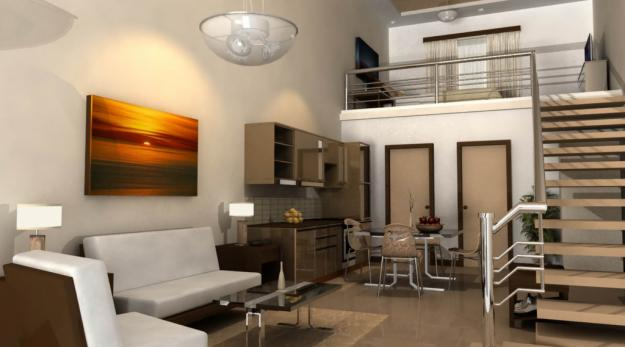 Modern contemporary apartment interior design minimalist style home