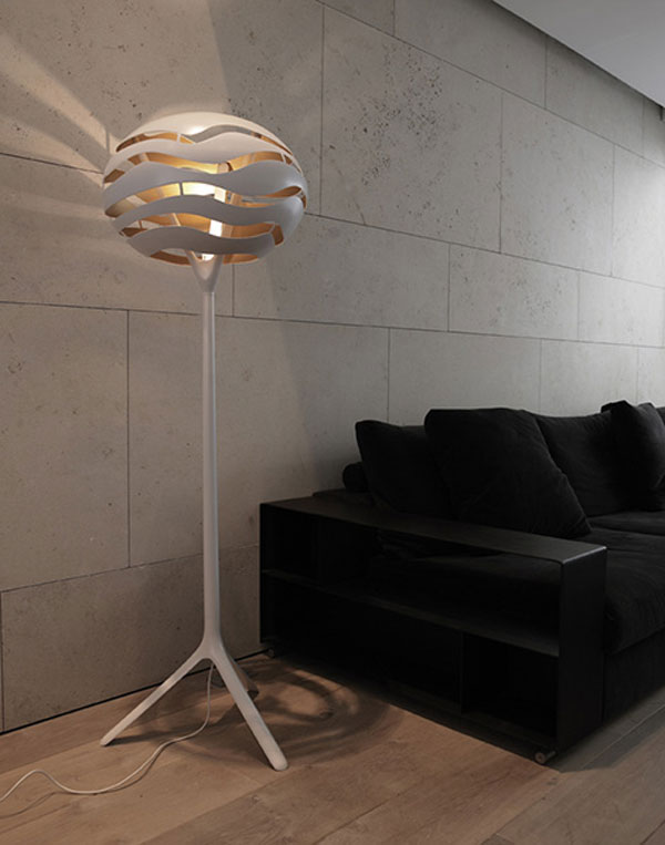 Collect This Idea Stylish Floor Lamp With Interesting Lighting Effects