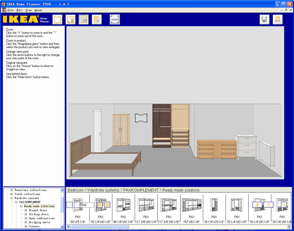 Use The Ikea Software To Layout Doors Windows And Closets That Are